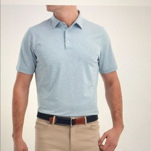 Johnnie-o striped Lyndon prep-formance jersey polo